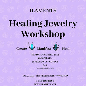 Ilaments Jewelry Workshop @ Plaza West Covina!