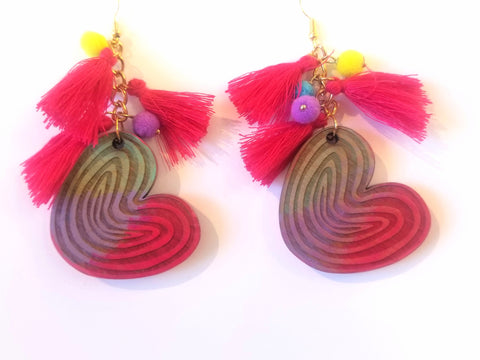 Oreja Tassel Earrings