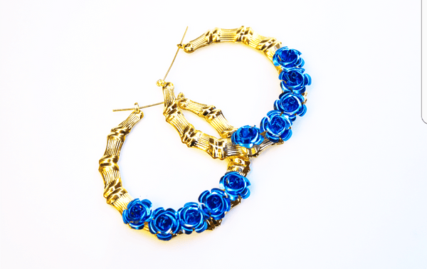 Los Doyers Bamboo Hoops