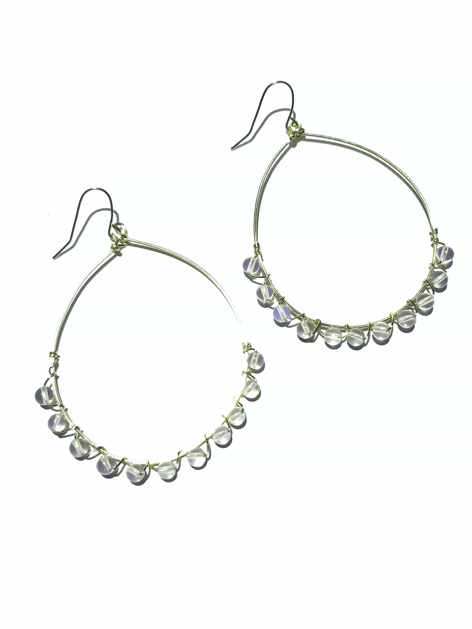 Moonstone Intuition Hoops