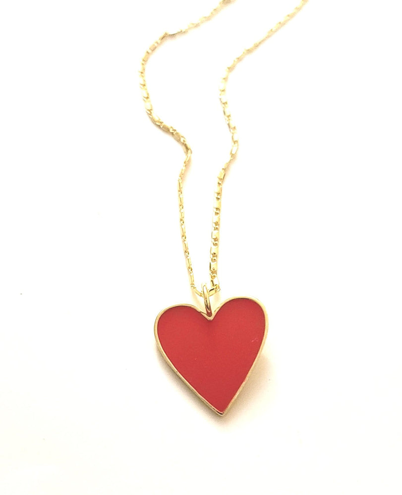 Load image into Gallery viewer, Te Amo Heart Charm Necklace