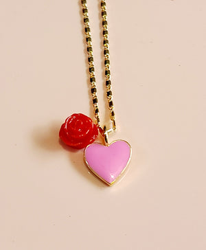 You Stole My Heart Necklace