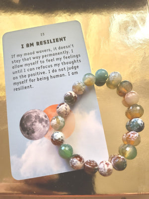 Load image into Gallery viewer, Fire Agate Healing Bracelet