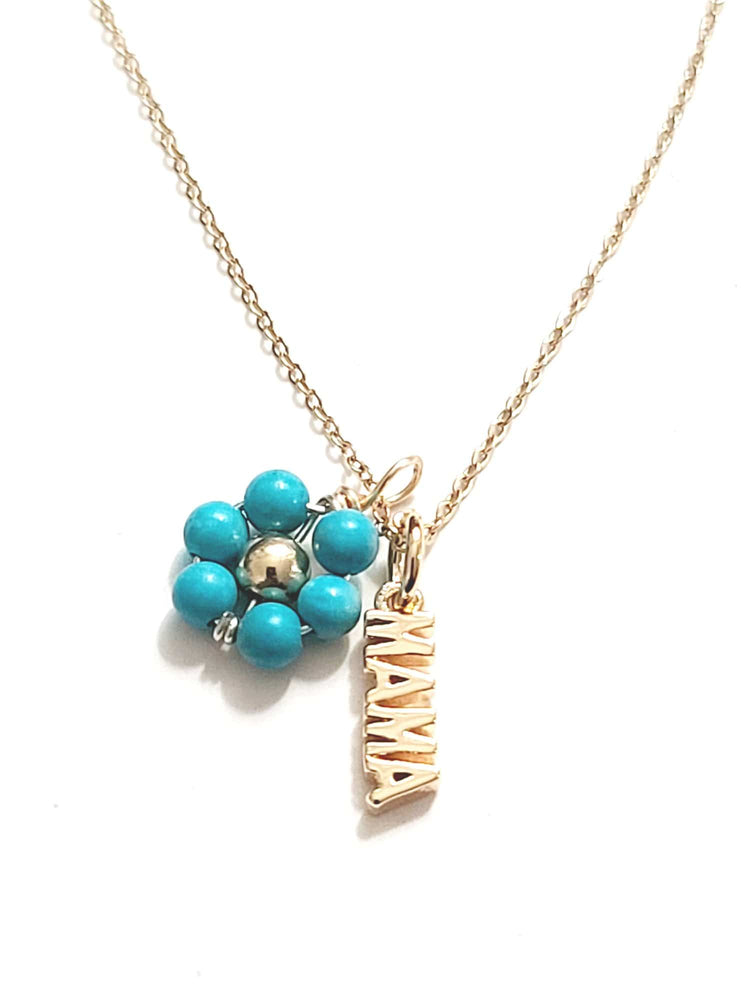 Mama Flower Necklace