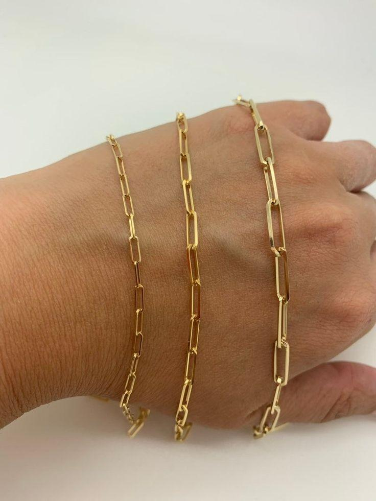 Load image into Gallery viewer, Paper Clip Link Bracelet