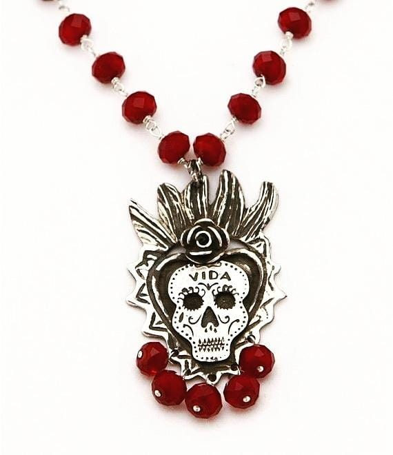 Sacred Heart Alma Gemela Necklace