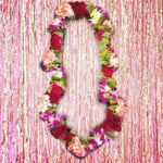 Orchid & Rose Carnation Leis