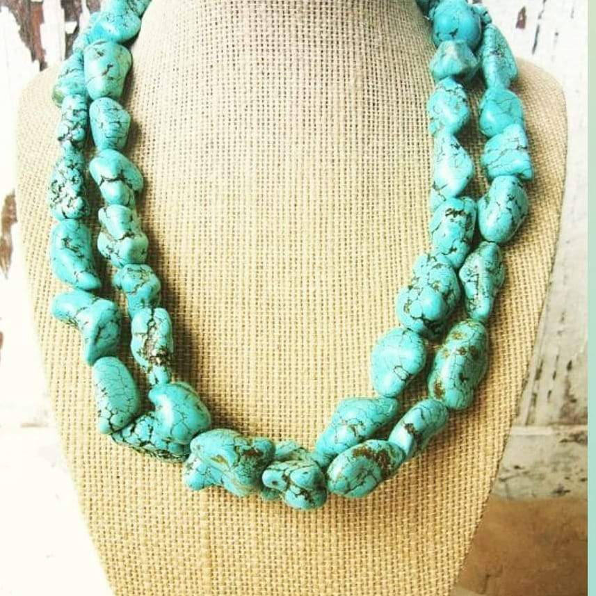 Walk in Beauty Turquoise Necklace