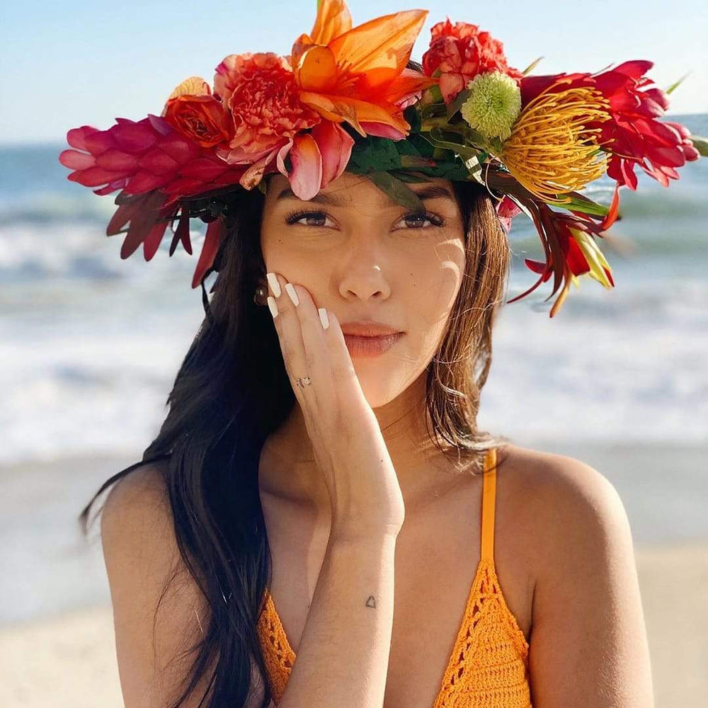 Load image into Gallery viewer, Fresh Flower Crown