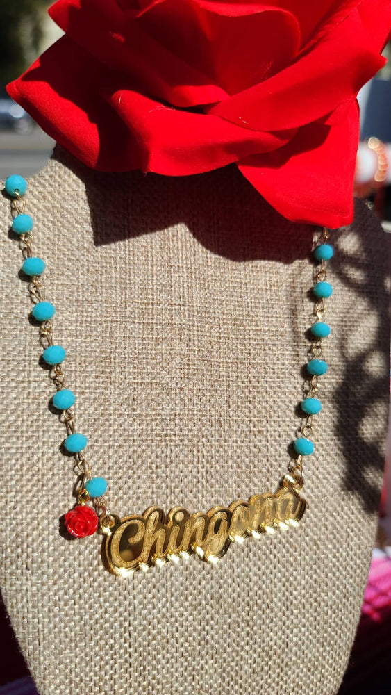 Chingona Crystal Necklace