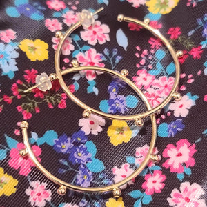 Primavera Gold Hoops