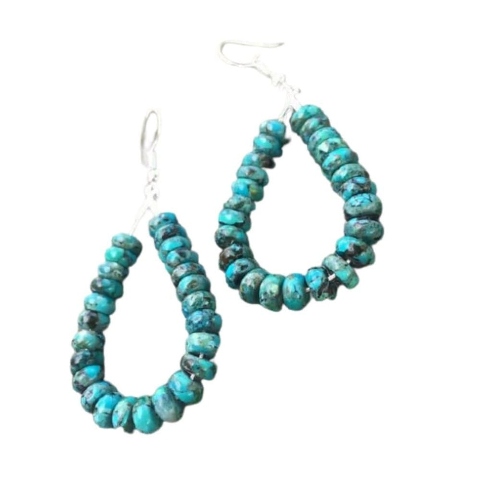 Turquoise Amulet Earrings