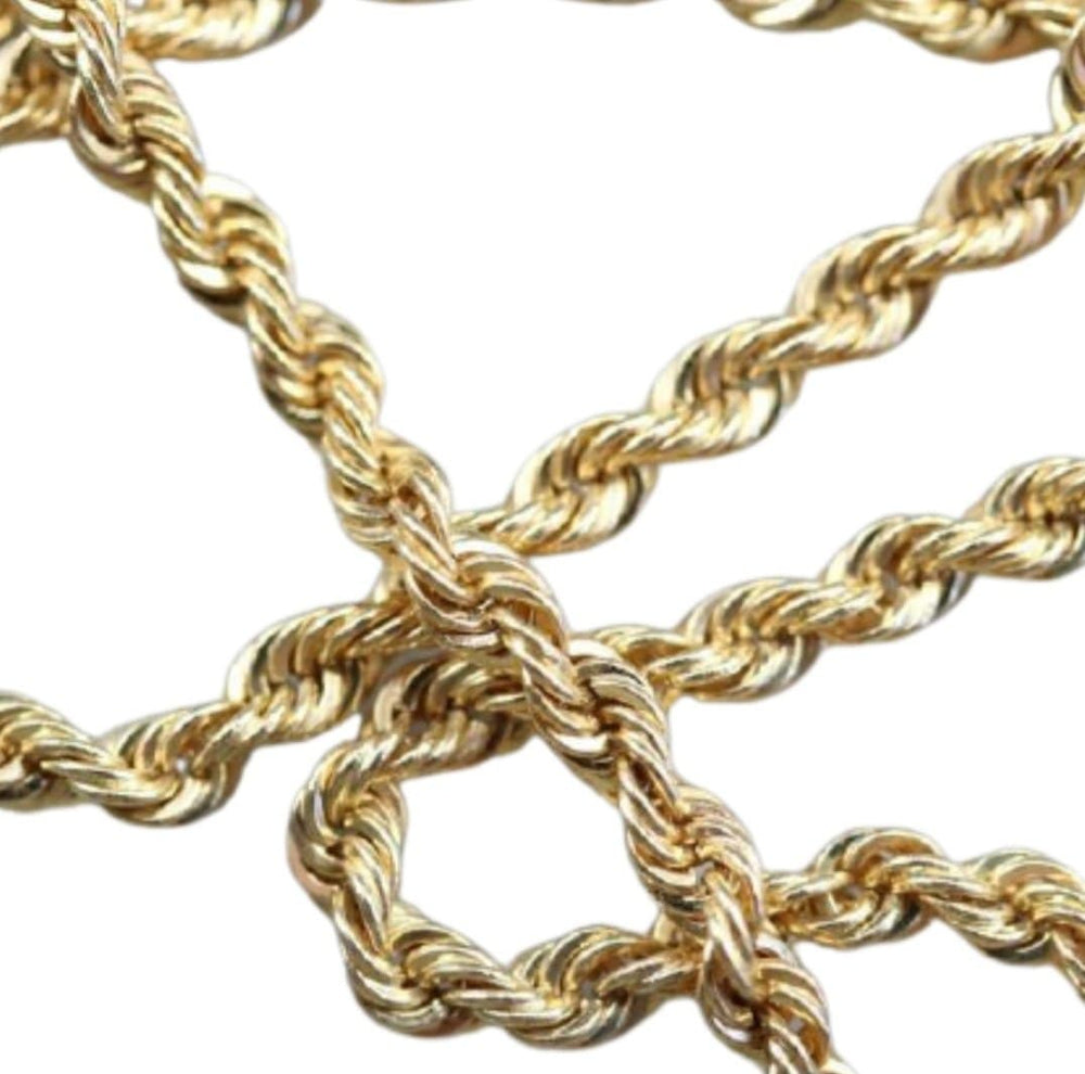 Rope 14kt Gold Chain