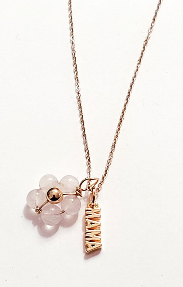 Mama Rose Quartz Necklace