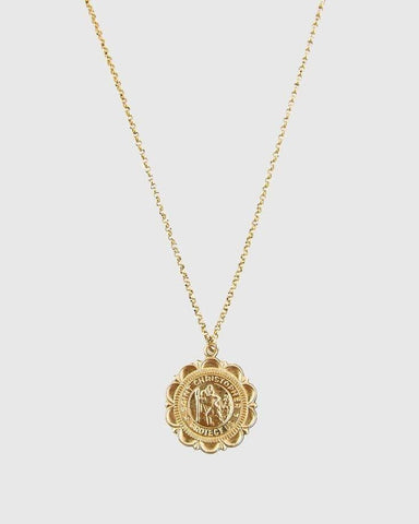 St. Christopher 14ktGF Charm Necklace