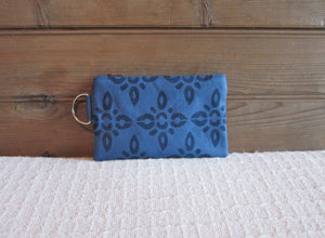 W-ZW-Blue Fabric, Navy 4point- $12.50