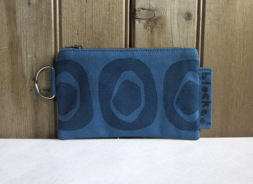 W-ZW-Blue Fabric, Navy Avocado - $12.50