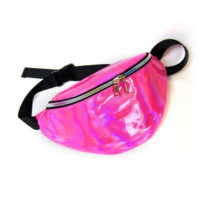 Shiny Fanny Pack - Utterly Unique Boutique - HOT PINK - FREE SHIP -$15 - Hands free is what it's all about. This shiny fanny pack features an adjustable strap that can double as a shoulder bag, exterior pocket and a double zipper closure. Choose from 5 colors. From our Utterly Unique Boutique. Description: Material: PVC, Strap: Adjustable, Exterior: Pocket, Closure: Double Zipper, Strap Drop: