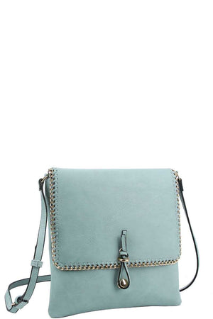 Chained Trim Crossbody Bag