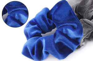 52 Piece Velvet Scrunchies