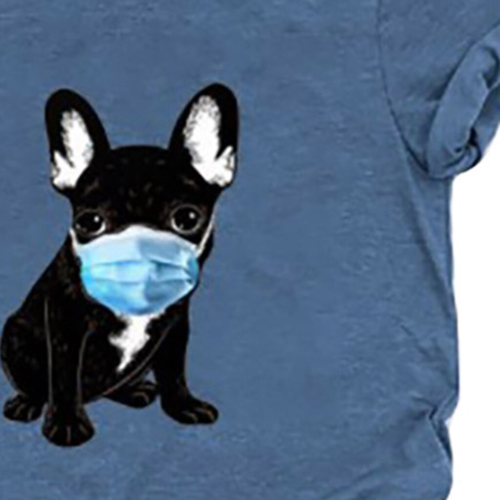 Masked Dog T-Shirt