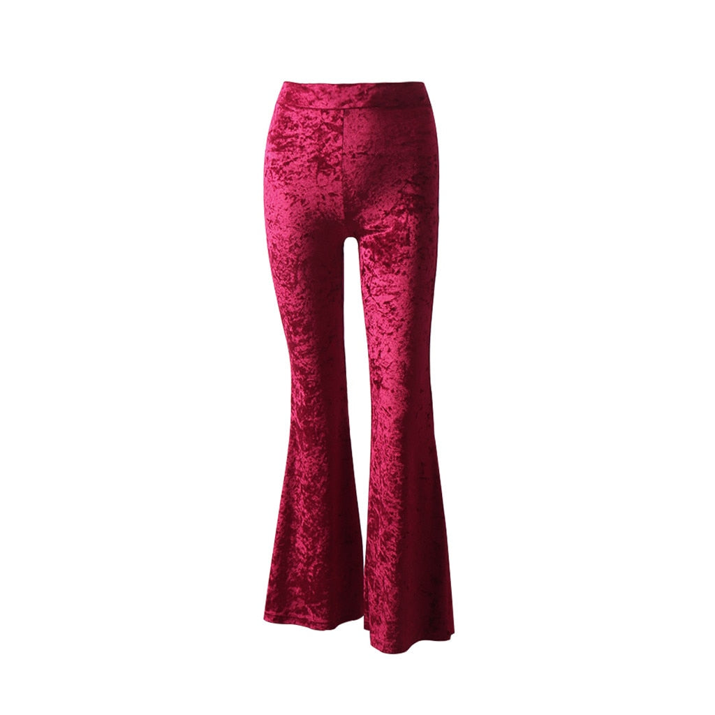 Crushed Velvet Pants