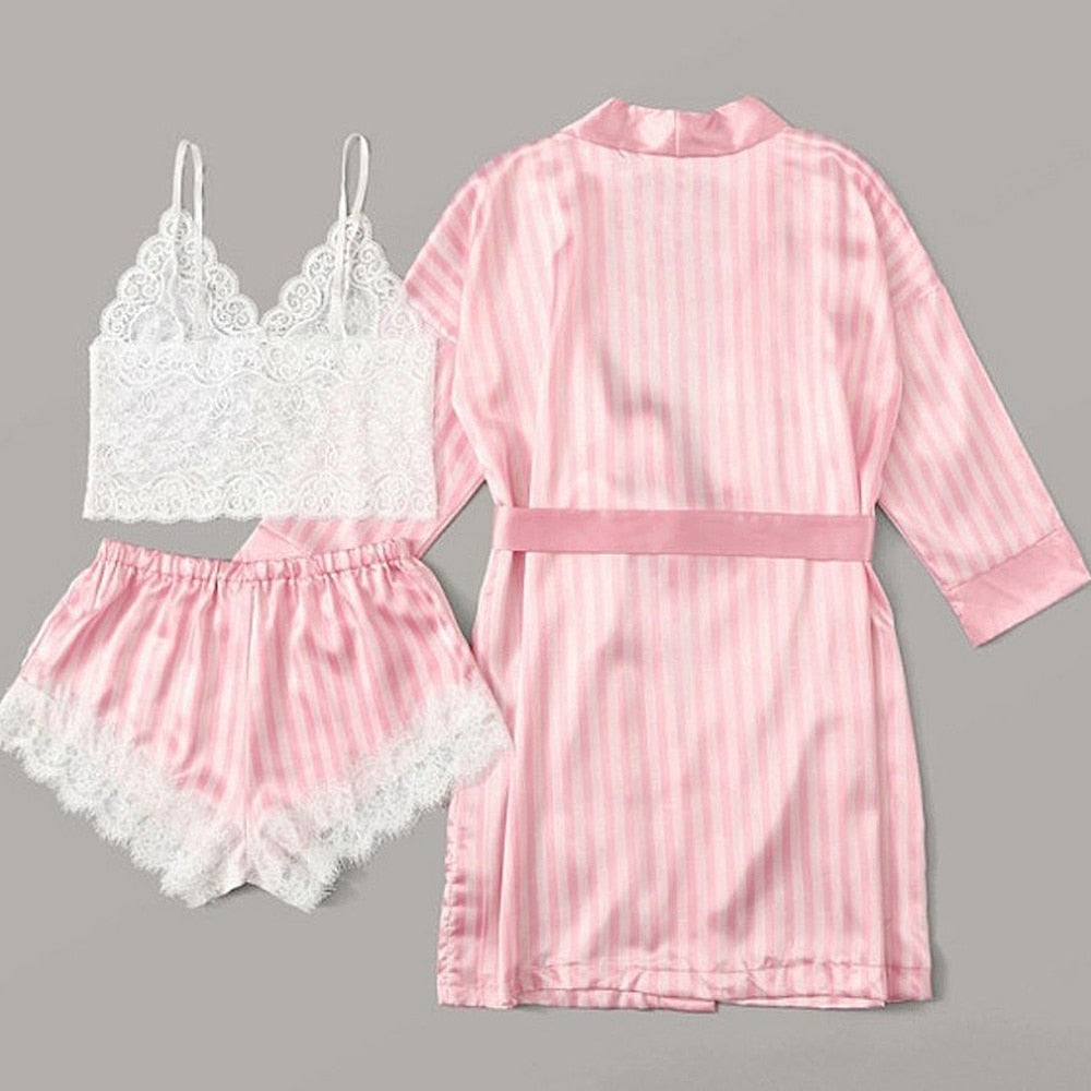 3 Piece Pajama Set