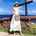 Hollow Out Wooden Handbag - Unique Boutique - FREE SHIP - AWESOME - You're sure to turn heads when you carry this awesome and unique hollow out wooden handbag. Featuring a half moon shape, wooden material, handles, hollow out style and a solid pattern. Available color tan. From our unique boutique. Description: Shape: Half Moon, Main Material: Wood, Lining Material: None, Handles/Straps: Handles