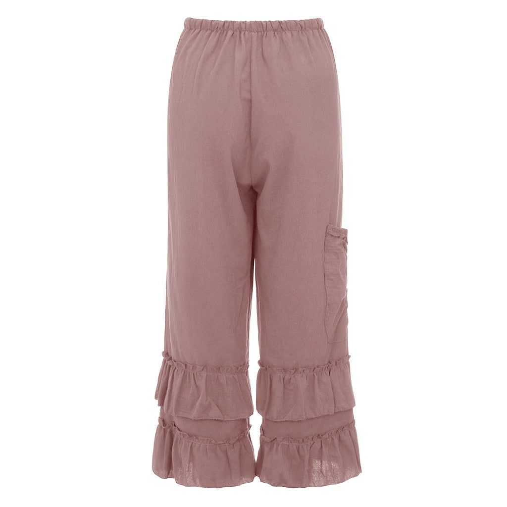 Ruffle Tiered Pants