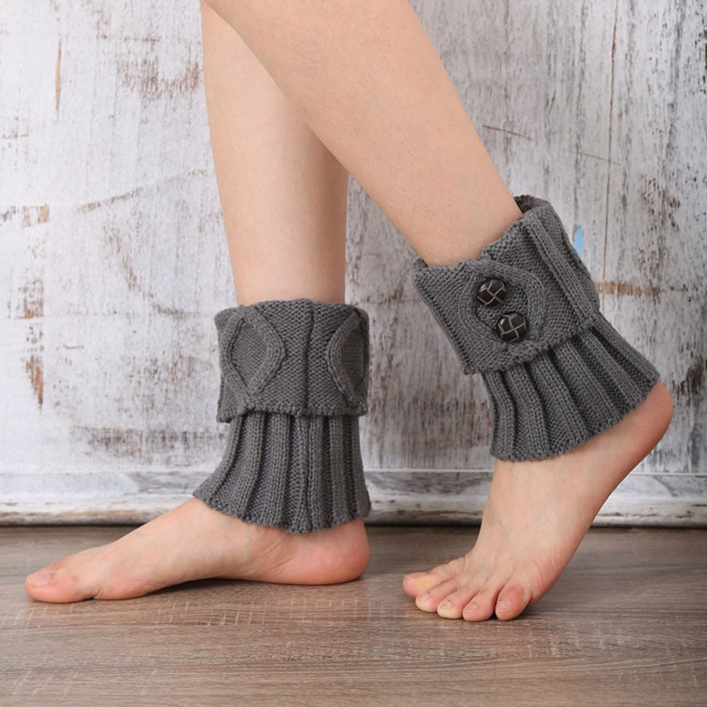 Knitted Boot Cuff
