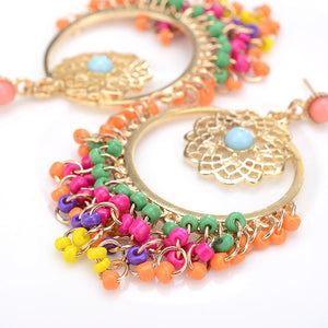 Beaded Boho Earrings