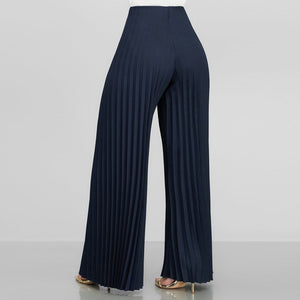 Pleated Loose Pants
