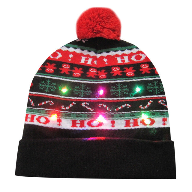 LED Knitted Hat