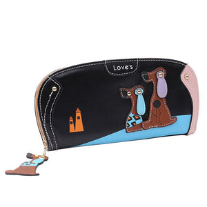 Long Dog Wallet