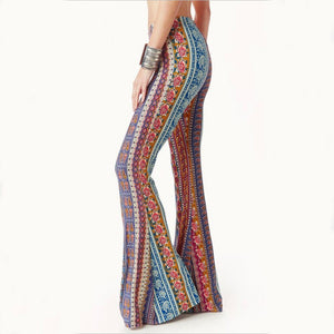 These super cute Printed Bell Bottom Pants are on point for the upcoming season. They feature an elastic waistline, multi-colored, bell bottom, full length and a multi- printed pattern. Delivery 4-13 days. From our be unique boutique. Description: Length: Full, Style: Bell Bottom, Material: Spandex, Polyester, Pattern: Multi-Print, Waistline: Elastic.