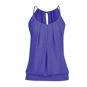 Pleated Summer Top