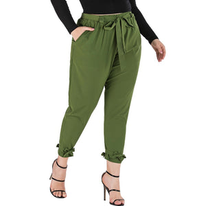 Belted Office Pants