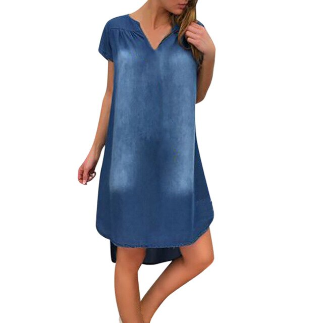 Sharkbite Denim Dress