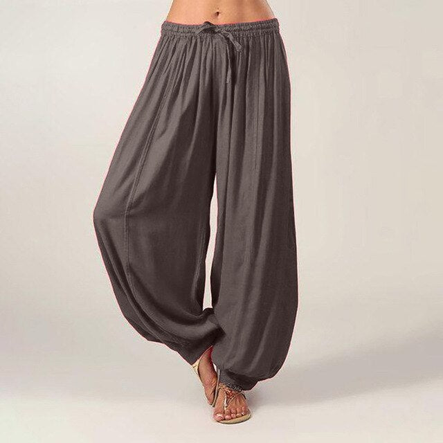 Pleated Harem Pants