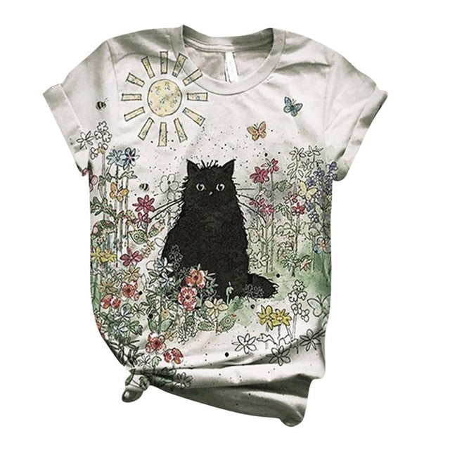 Printed Animal T-Shirt