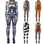 Make it super cute and stand out this year by slipping into this comfortable One-Piece Halloween Costume. Choose from 13 colors and patterns. Delivery 4-13 days. From our unique boutique. Description: Material: Polyester, Theme: Multiple, Item: One-Piece Jumpsuit, Wash: Hand wash, Line Dry.