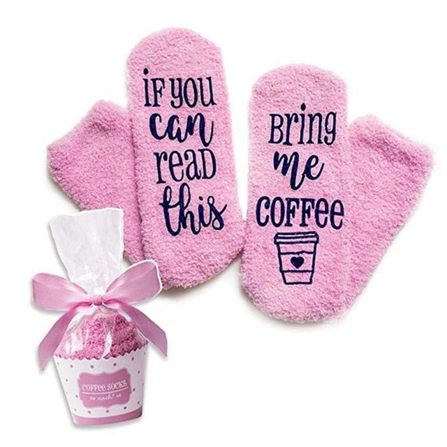 Sit back and wait for it! These soft and fluffy cotton Socks With A Message is very clear. They feature writing on the bottom with anti-skid lettering and come gift wrapped like a cupcake. A perfect gift! Choose from 3 messages in the color pink. From our Utterly Unique Boutique. Description: Fashion Element: Message On Bottom Of Foot, Material: Cotton, Size: One Size Fits Most, Feature: Anti-Skid, *Please Note: Delivery Up To 3 Weeks On This Item.