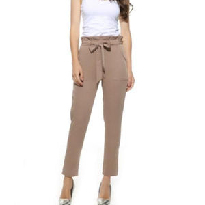 Trendy High Waist Pants - Unique Boutique - FREE SHIPPING - COMFY - These cute pants are available in all the must have colors. They feature a loose fit for comfort, deep pockets, elastic waist, solid pattern, a drawstring and falls above the ankle. Available in 4 colors. From our be unique boutique. Description: Fit: Loose, Material: Polyester, Spandex, Pattern: Solid, Fashion Element: Drawstring, Pockets, Waist: Elastic