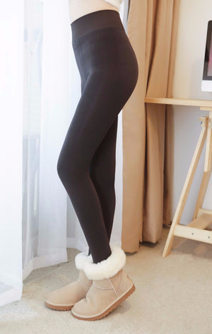 Velvet Lined Leggings