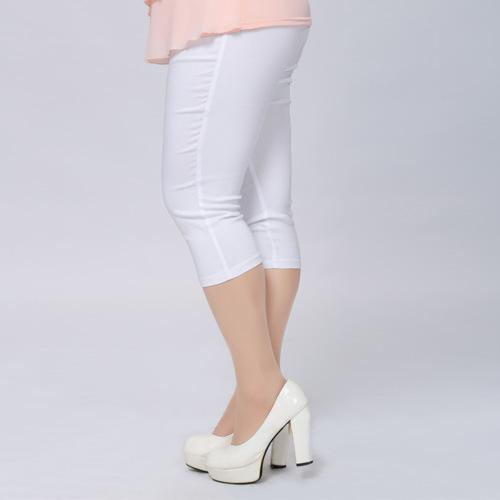 Comfy Capris - Utterly Unique Boutique - Super Stretchy - All Cotton - Slide into these super stretchy, comfy cotton pants featuring a calf length, high waistline with elastic. Available in 14 fun, candy colors. From our cheap plus size women's clothing.