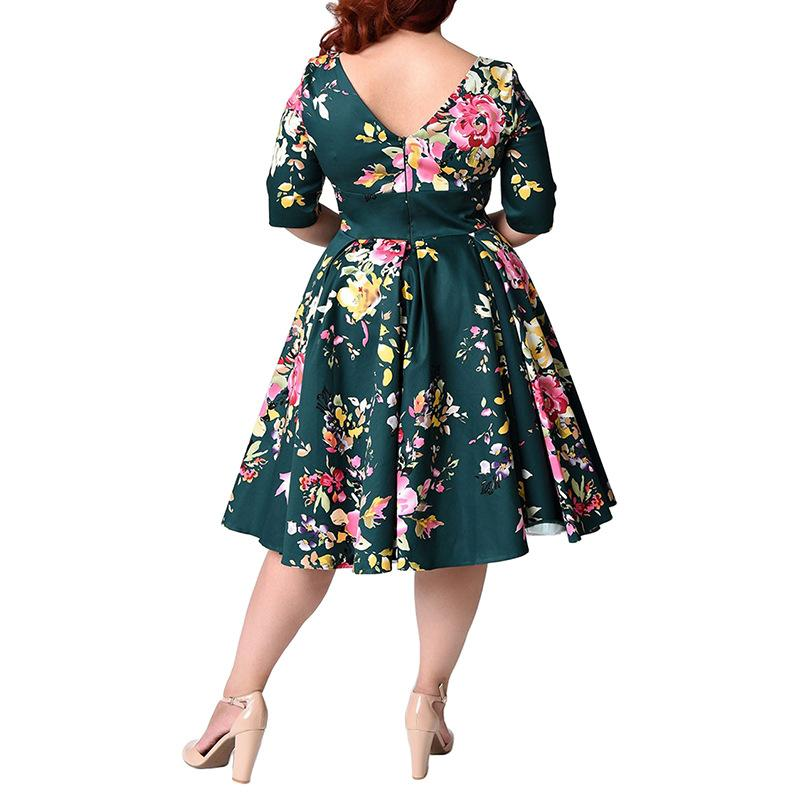 Vintage Floral Dress - Utterly Unique Boutique