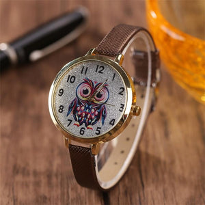 Owl Quartz Watch - Utterly Unique Boutique
