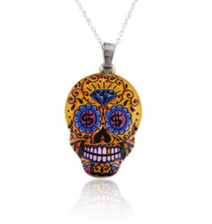 Skull Necklace - Utterly Unique Boutique