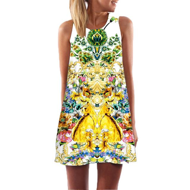 Printed Summer Dresses - Utterly Unique Boutique
