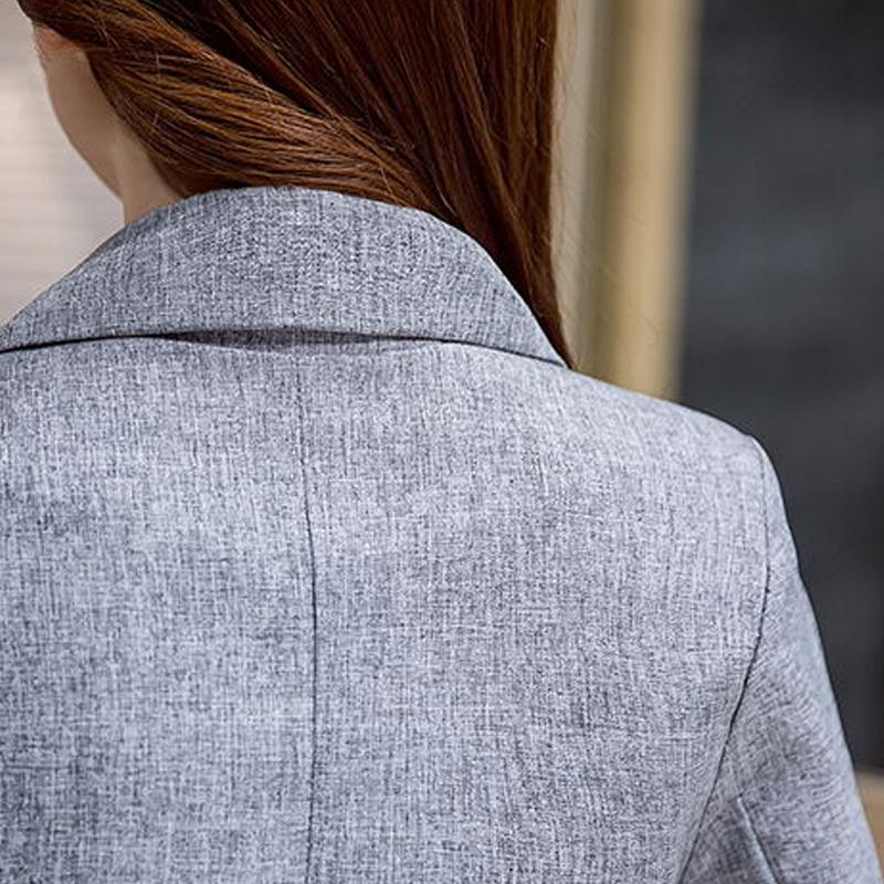 Long Gray Blazer - Utterly Unique Boutique